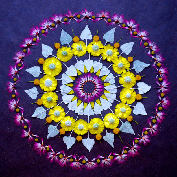 flower mandalas by kathy klein (13)
