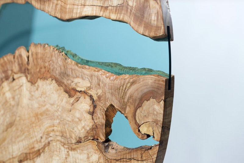 Furniture with Rivers of Glass Running Through Them by Greg Klassen (11)