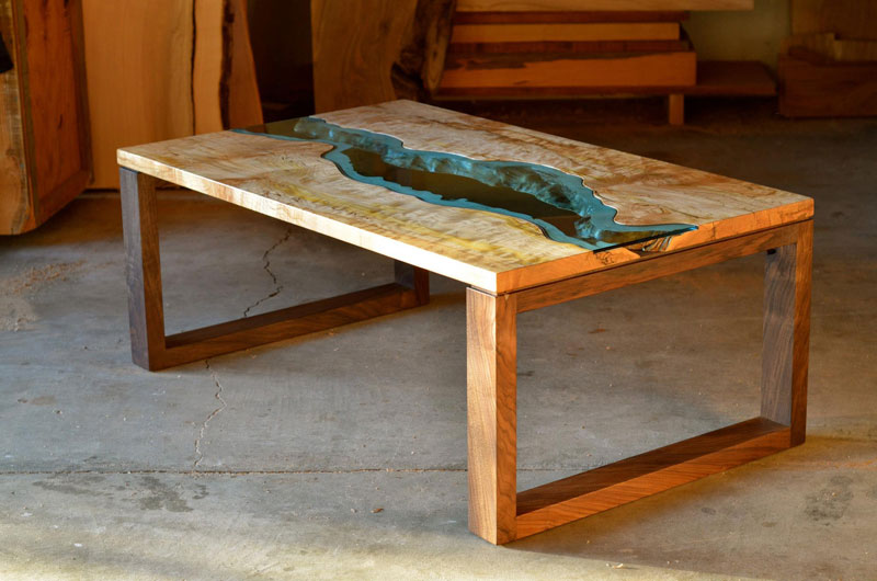 Furniture with Rivers of Glass Running Through Them by Greg Klassen (6)