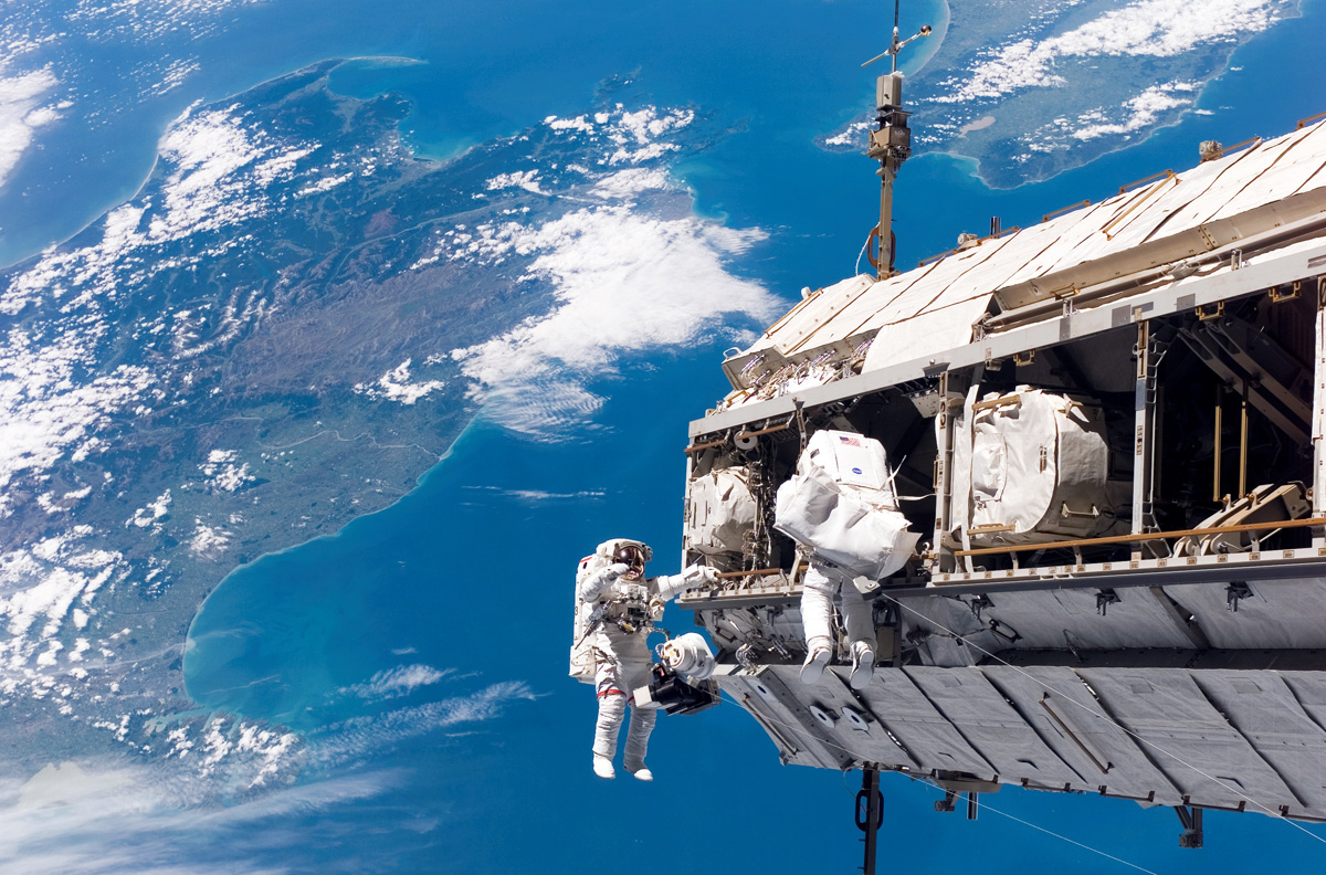 going for a space walk Picture of the Day: Going for a (Space) Walk