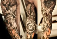 Insanely Detailed Sleeve Tattoos by Niki Norberg