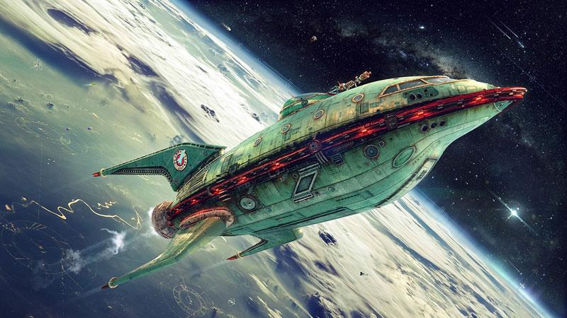 if futurama was 3D by alexey zakharov (2)