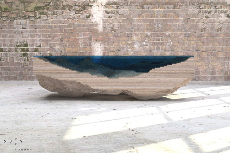 layered glass coffee table shows depths of the oceans by duffy london (3)