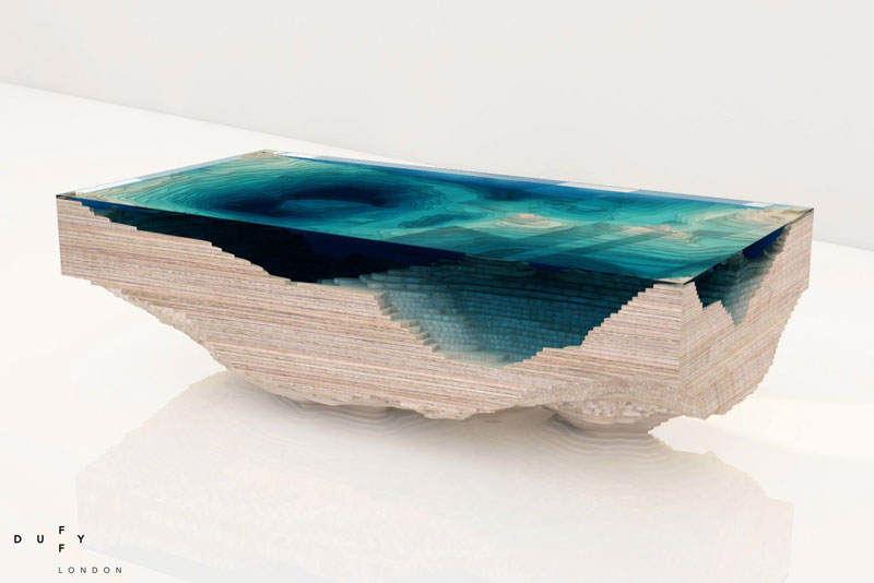 layered glass coffee table shows depths of the oceans by duffy london (8)