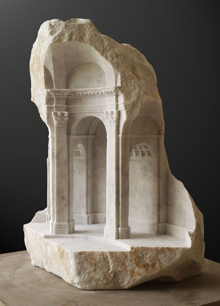 miniature columns and pillars carved into marble by matthew simmonds (3)