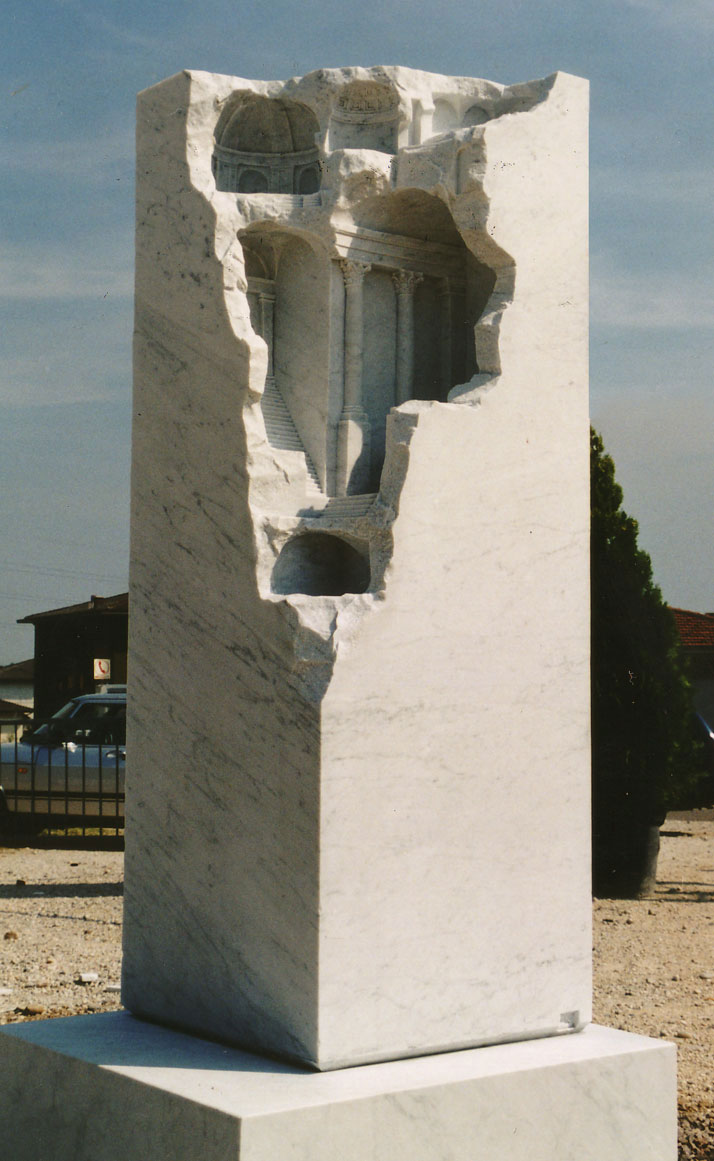 miniature columns and pillars carved into marble by matthew simmonds (4)