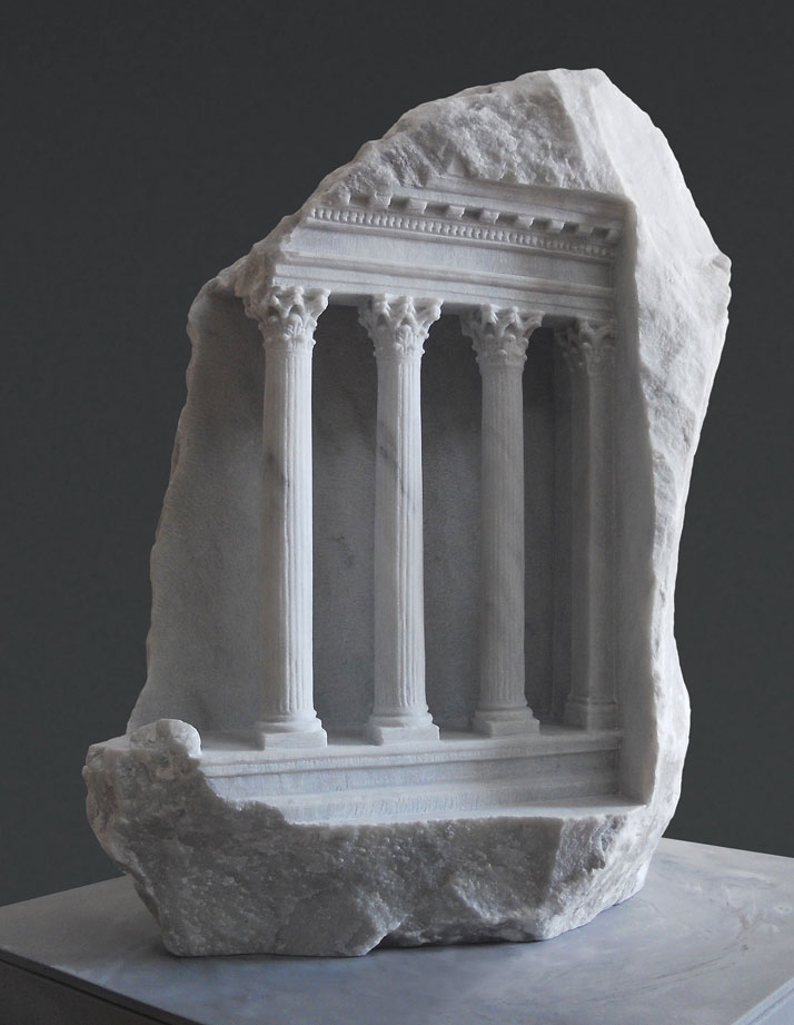 miniature columns and pillars carved into marble by matthew simmonds (5)
