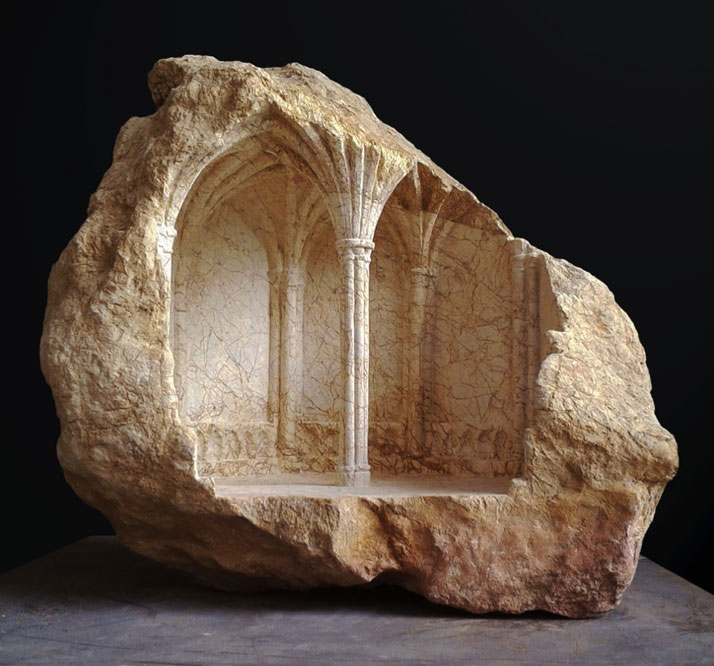 miniature columns and pillars carved into marble by matthew simmonds (6)