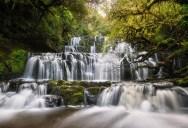 Picture of the Day: Purakaunui Falls, New Zealand