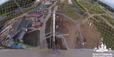 This is the First Ride Down the World's Tallest Waterslide