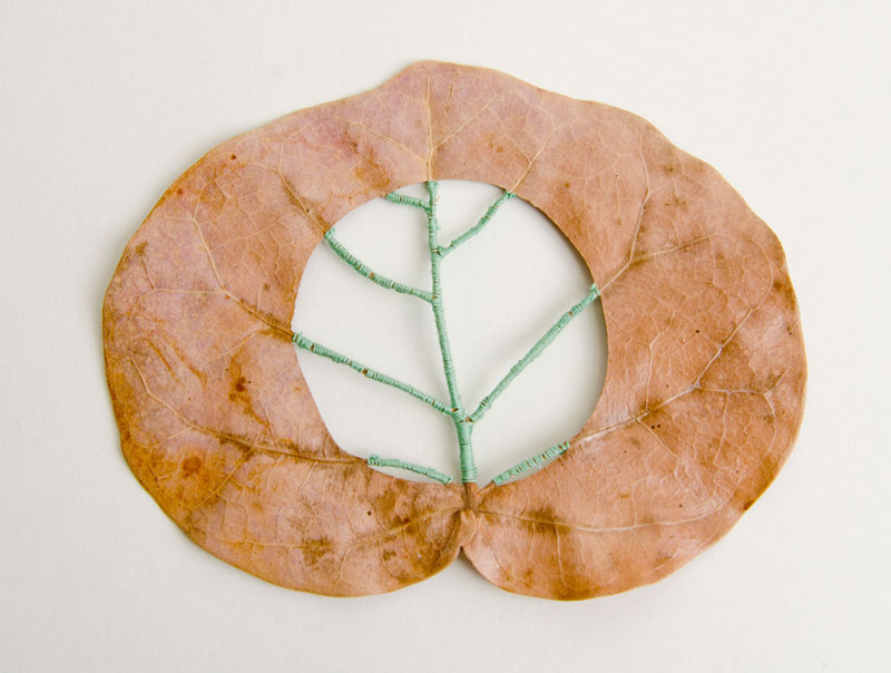 stitched leaves by hillary fayle (1)