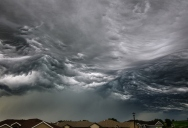Picture of the Day: Storm Cloud Looks Like Ocean Waves