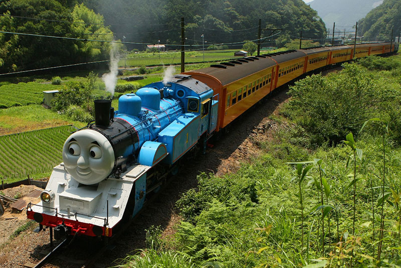 thomas the tank engine japan oigawa railway The Top 100 Pictures of the Day for 2014