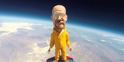 A Walter White Bobblehead Got Sent to Space and Came Down as Heisenberg