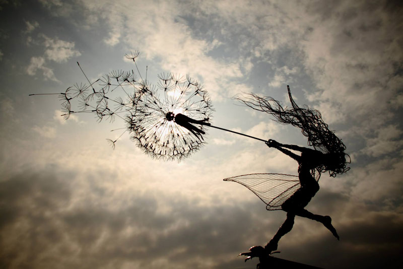 wire fairy sculptures by robin wight (3)