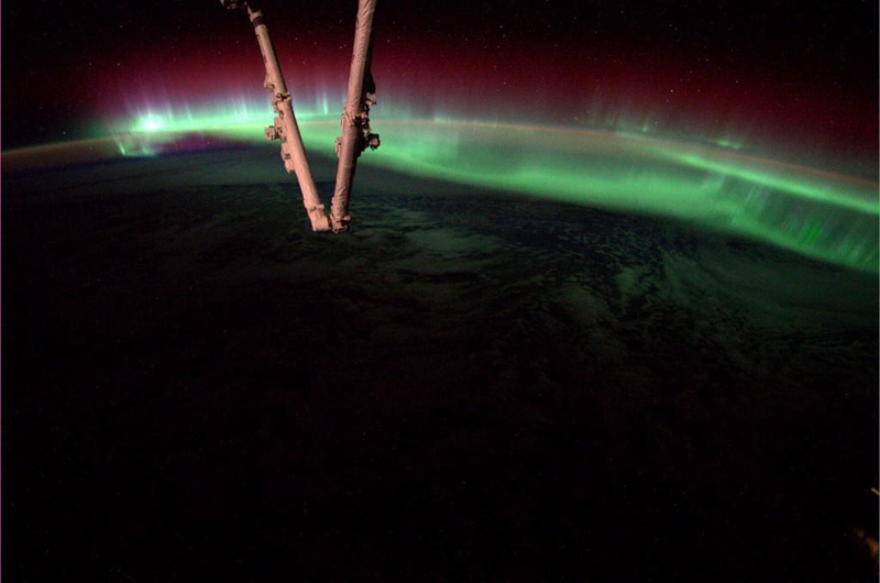aurora from space iss Picture of the Day: This was Just Taken from Space