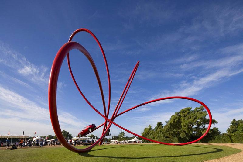 goodwood festival of speed sculptures by gerry judah (18)