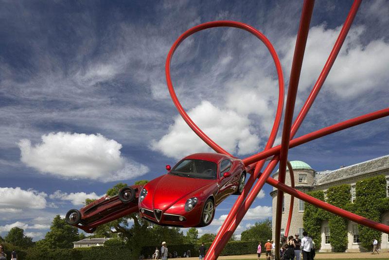 goodwood festival of speed sculptures by gerry judah (20)