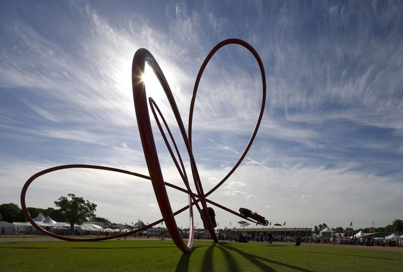 goodwood festival of speed sculptures by gerry judah (21)