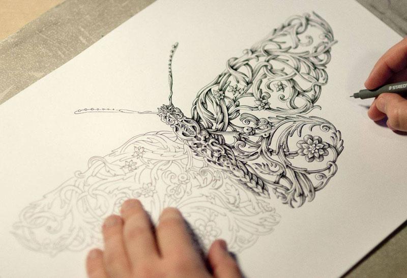 india ink illustrations by alex konahin (2)