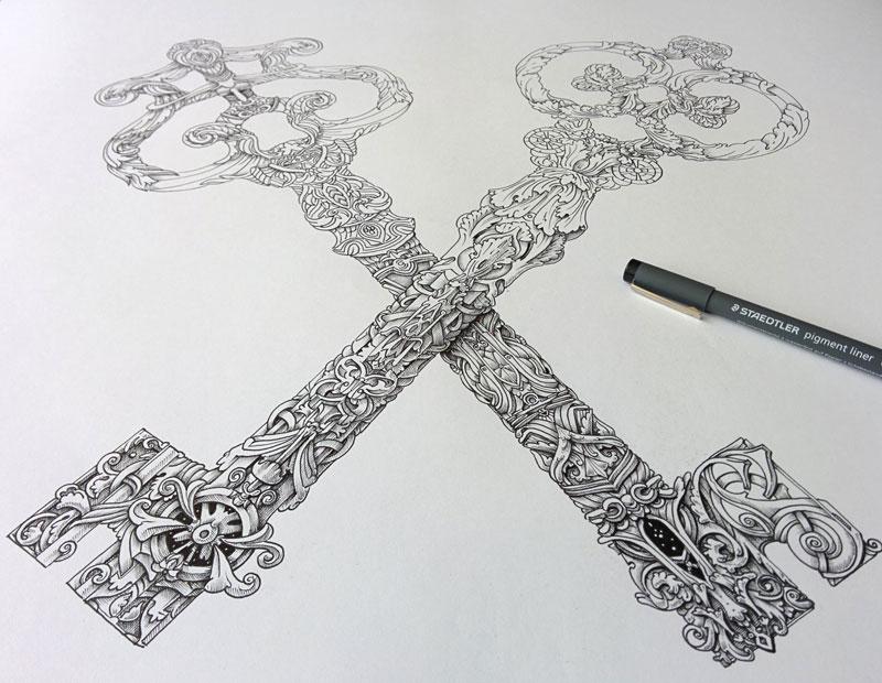 india ink illustrations by alex konahin (7)