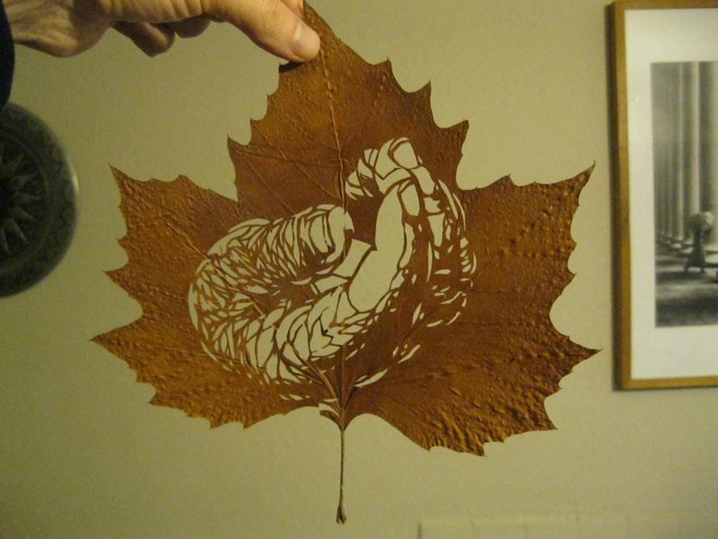 leaf cut art by omad asadi (5)