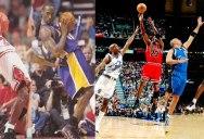 Kobe Bryant vs Michael Jordan: Identical Plays