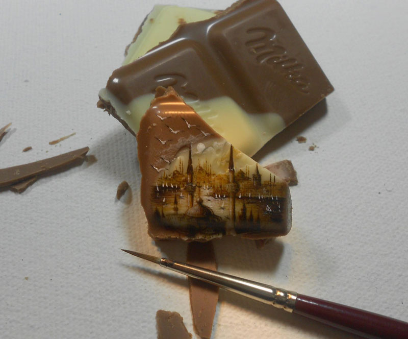 The 27 Tiniest Paintings You Will Ever See