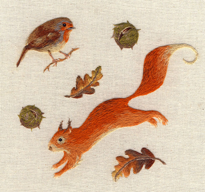 miniature animal embroideries by chloe giordano (4)