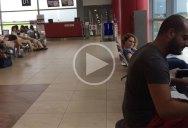 Guy Plays Fur Elise in Various Styles While Waiting in Prague Airport