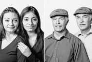 15 Portraits of Unrelated Doppelgangers