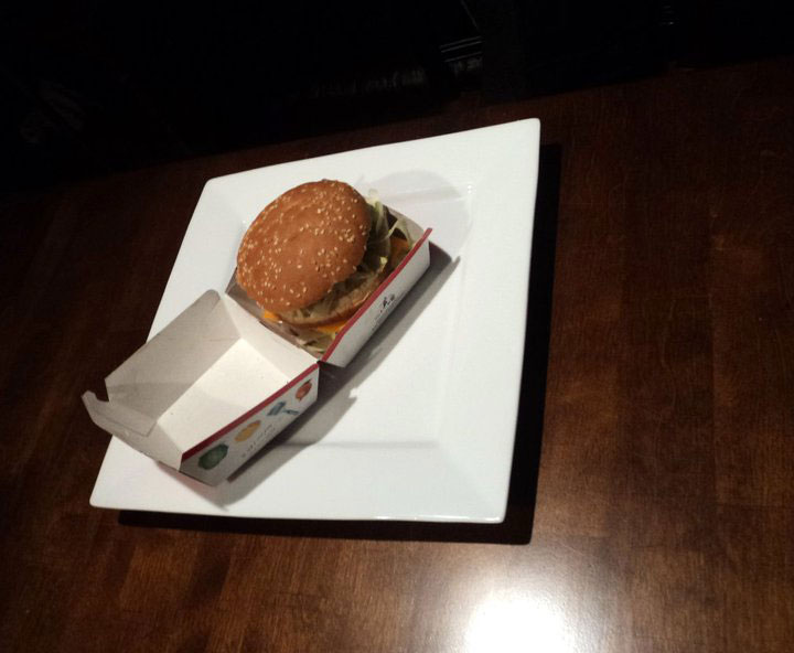 Two Friends Try to Make Their Fanciest Dish Using Just a Big Mac Combo (1)