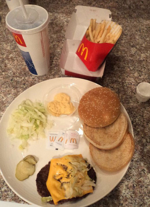 Two Friends Try to Make Their Fanciest Dish Using Just a Big Mac Combo (2)