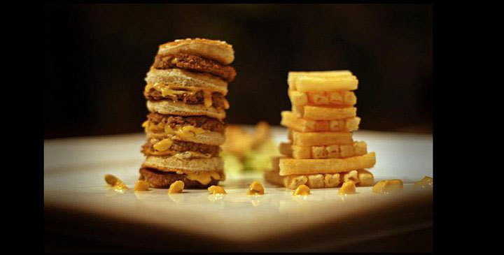 Two Friends Try to Make Their Fanciest Dish Using Just a Big Mac Combo (5)