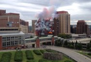 Watch a Building Get Completely Demolished in 60 Seconds