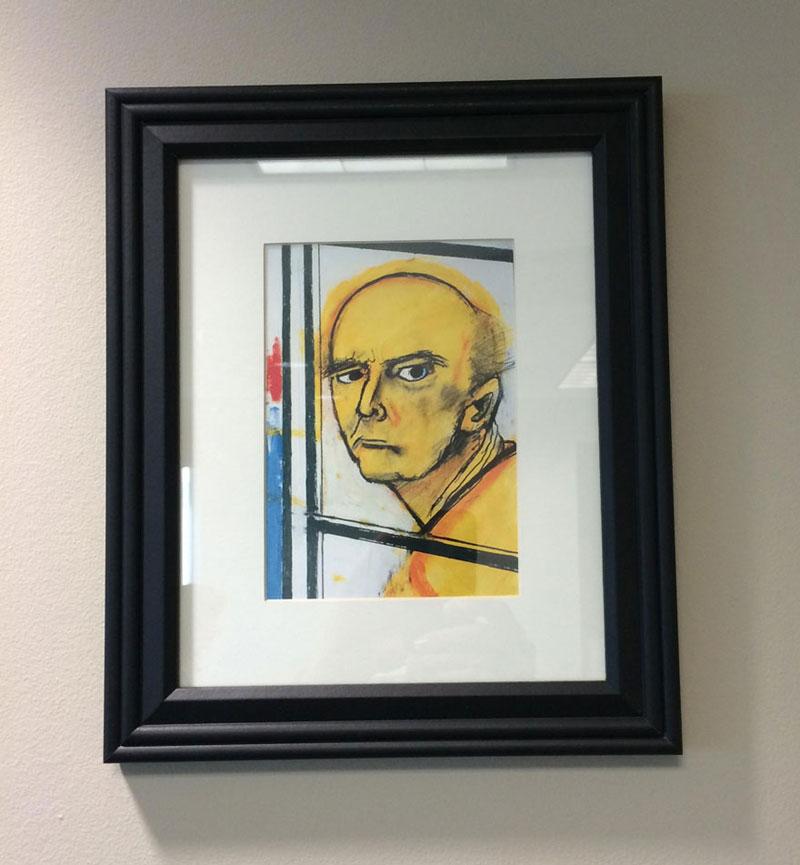 william utermohlen's Battle with Alzheimer's Documented Through Self-Portrait Paintings (2)
