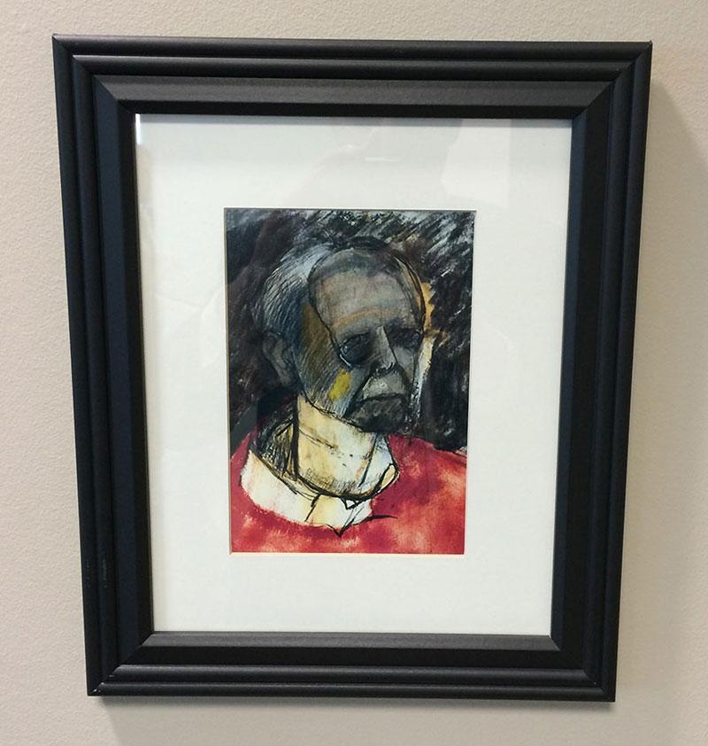 william utermohlen's Battle with Alzheimer's Documented Through Self-Portrait Paintings (6)