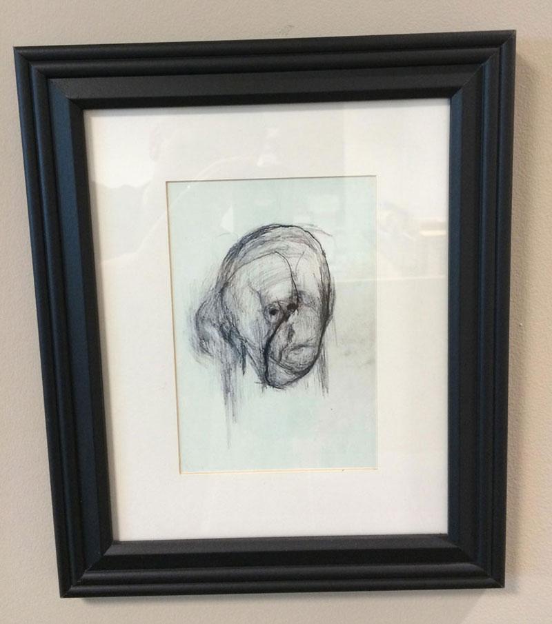 william utermohlen's Battle with Alzheimer's Documented Through Self-Portrait Paintings (8)