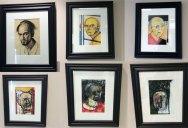 Artist's Battle with Alzheimer's Documented Through Gripping Self-Portraits