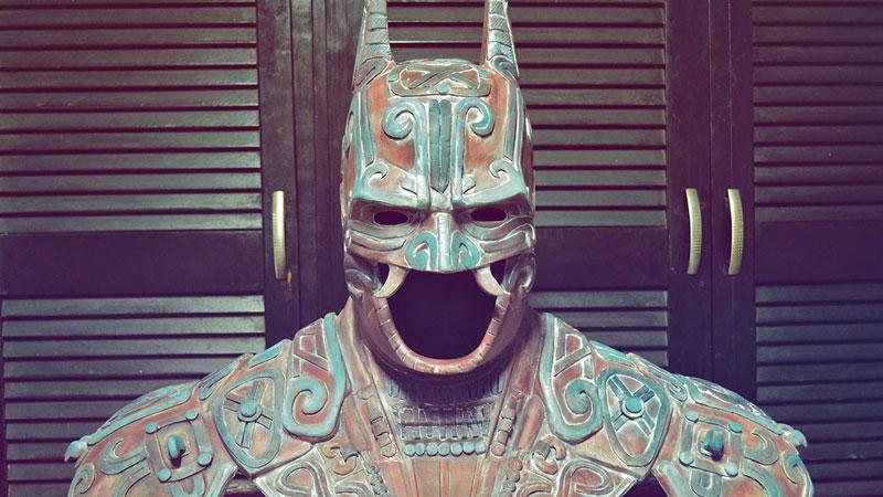 ancient mayan batman by kimbal (1)