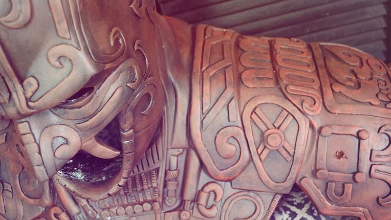 ancient mayan batman by kimbal (6)