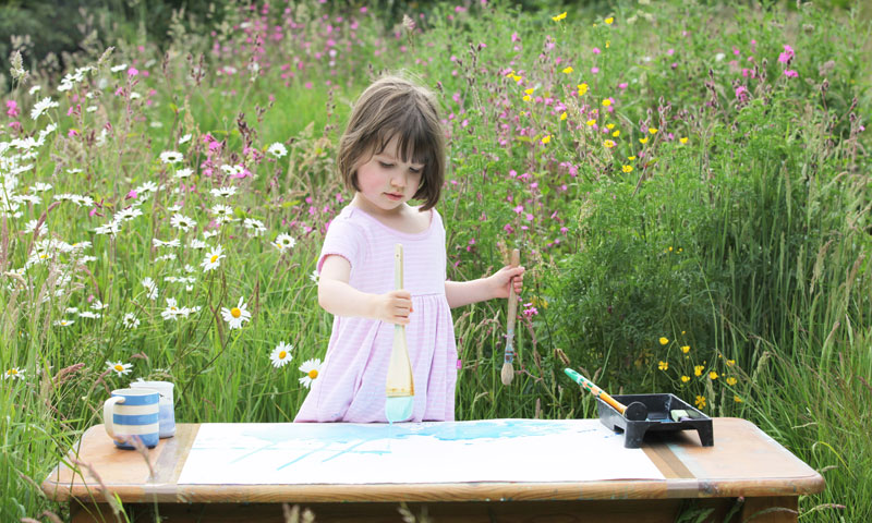 autistic 5 year old expresses herself through art 10 In 2001 John Bramblitt Went Blind. A Year Later, He Began Painting