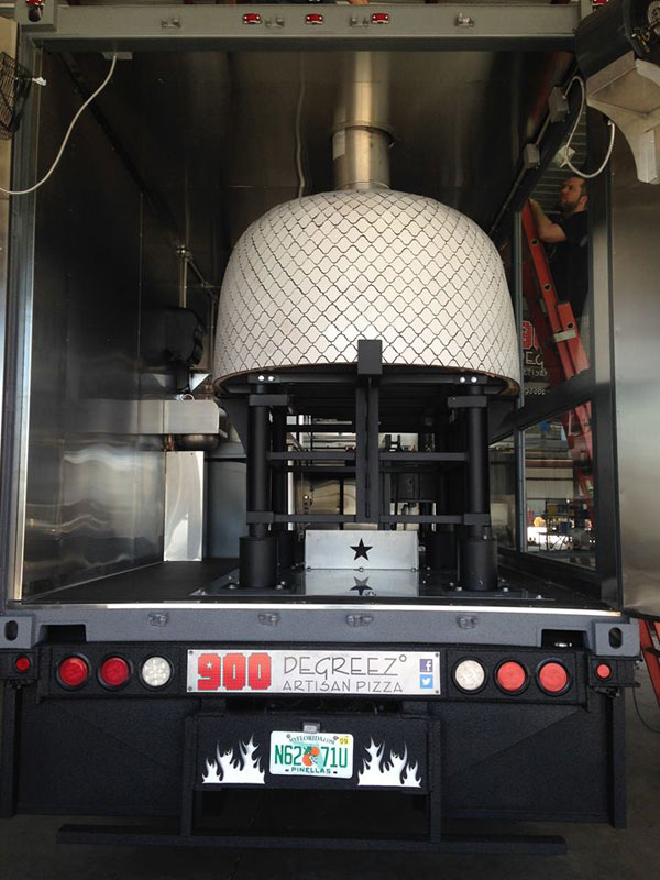 food truck with wood burning pizza oven (1)
