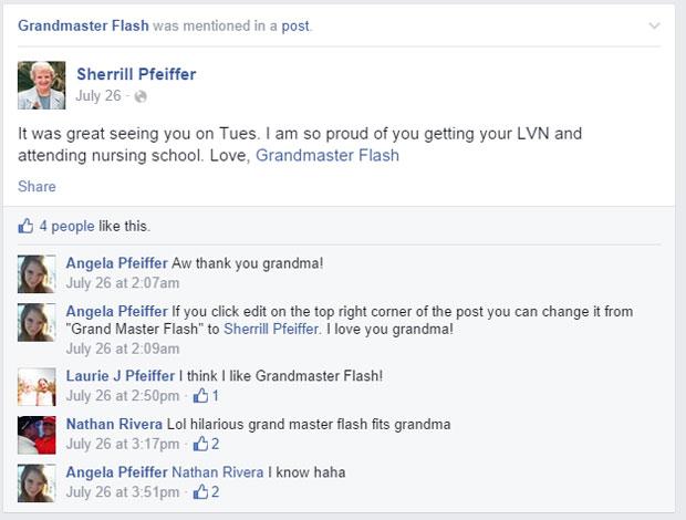 grandmas grandmothers accidentally tag grandmaster flash on facebook (11)