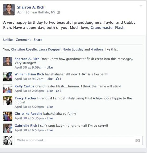 grandmas grandmothers accidentally tag grandmaster flash on facebook (13)