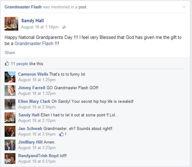 grandmas grandmothers accidentally tag grandmaster flash on facebook (3)