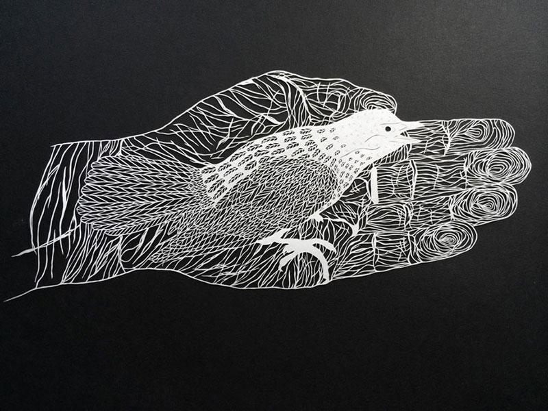 hand cut paper art by maude white 10 12 Intricate Paper Artworks Cut by Hand