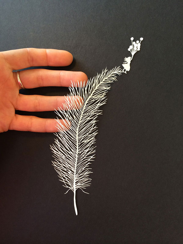 hand cut paper art by maude white 5 12 Intricate Paper Artworks Cut by Hand