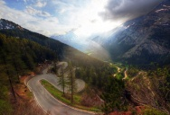 Picture of the Day: The Maloja Pass, Switzerland