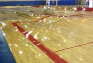 So the Pipes Underneath this Basketball Court Just Burst